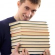 Man with books — Stock Photo #1307920