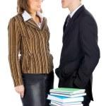 Businessman and businesswoman — Stock Photo #1309465