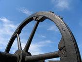 Large wheel — Stock Photo