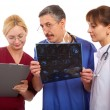 Royalty-Free Stock Photo: Two doctors and nurse