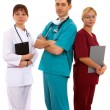 Doctors and nurse - Stock Photo