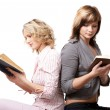 Girls with books — Stock Photo #1369353