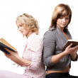 Stock Photo: Girls with books