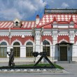 Railroad station - Stockfoto