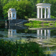 Rotunda on the pond — Stock Photo
