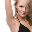 Beautiful blonde model — Stock Photo #1379250