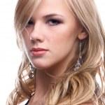 Beautiful blonde model — Stock Photo #1379343