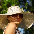 Girl in hat - Foto de Stock