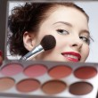 Girl's make-up — Stockfoto