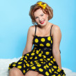 Stock Photo: Pin-up girl