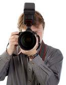 Fotograf — Stockfoto