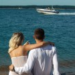 Couple on the beach — Stock Photo #2578620