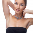 Model in necklace — Stock Photo #2631604