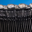 Antique typewriter - Stockfoto