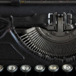 Antique typewriter — Stock Photo #1186534
