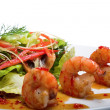 Stock Photo: Appetizer with shrimps