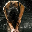 Foto Stock: Wet woman