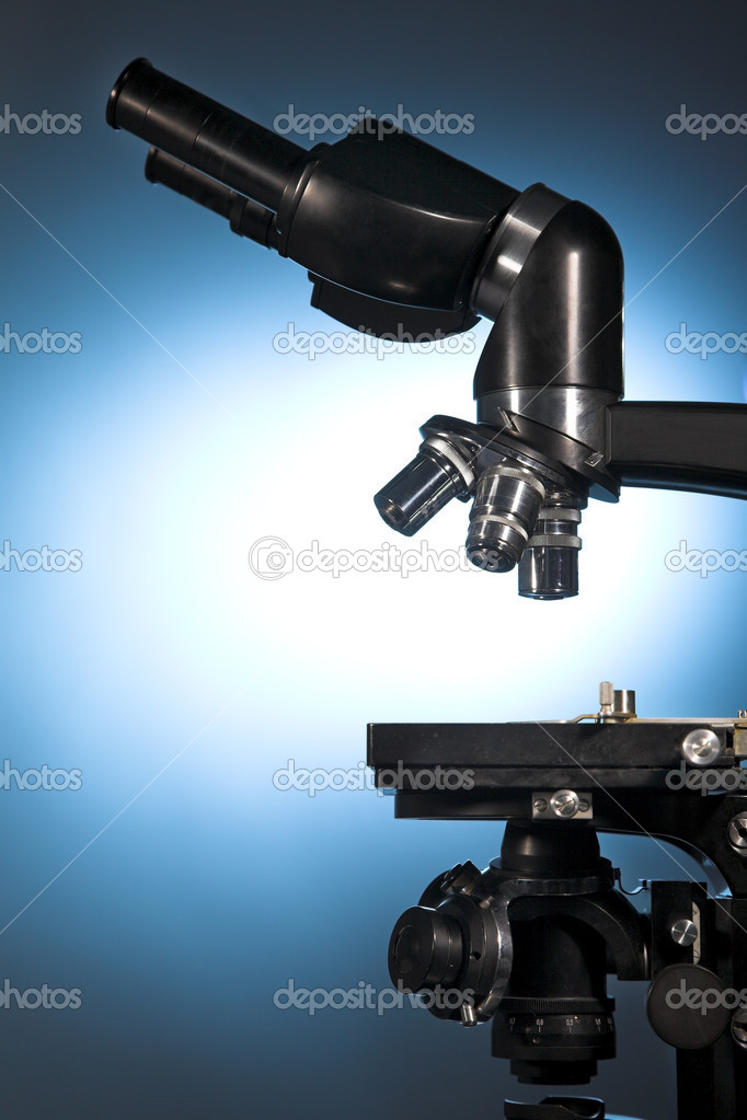 Close up photo of a microscope  Stock Photo #1344476