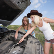 Stock Photo: Beauty mechanic