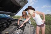 Krása mechanik — Stock fotografie