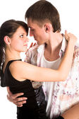 Dancing couple — Stockfoto