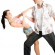 Dancing couple — Stock Photo #2427178