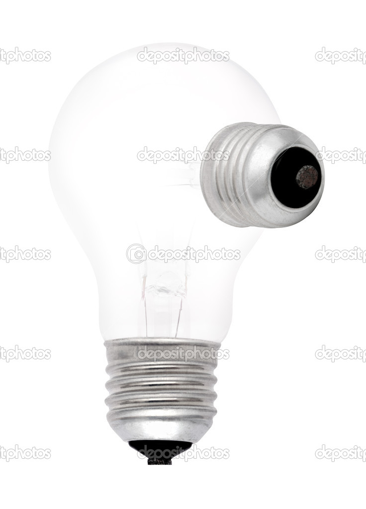 Lamp mutant isolated on a white background — Stock Photo #1269983