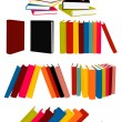Royalty-Free Stock Vector Image: Books collection