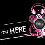 Grunge headphones design — Stock Vector #2080954
