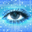 Digital eye - Stock Photo