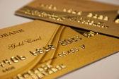 Bank card — Stock Photo