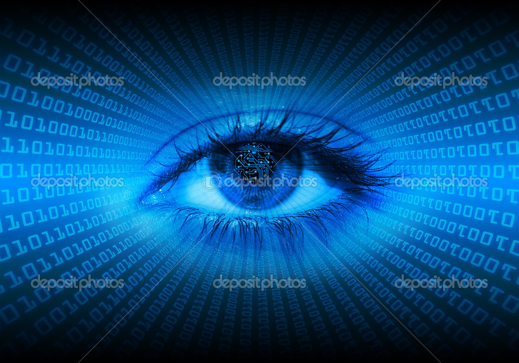 Digital eye — Stock Photo #1222521