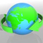 Ecology concept background — Stock Photo