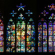 St Vitus Stained Glass Window collection — Stock Photo