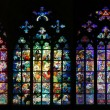 Stock Photo: St Vitus Stained Glass Window collection