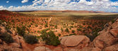 Panorama no deserto — Foto Stock