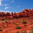 Red Desert - Stock Photo