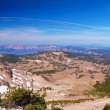 Stock Photo: Crater Lake 60 megapixel panorama