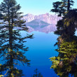Crater lake — Foto Stock