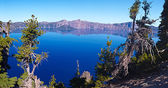 озеро кратера — Стоковое фото