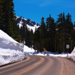 Winter Winding Road — Stock Photo