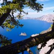 Stock Photo: Phantom Ship, Crater Lake