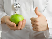 Apple for your health — Stock Photo