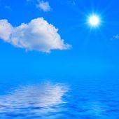 Oceaan landschap — Stockfoto