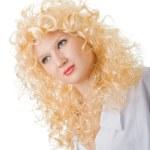 junge Blondine — Stockfoto