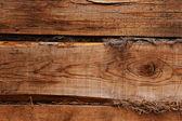 Shaggy wooden wall — Stock Photo