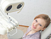 With a dentist — Stock Photo