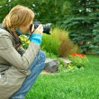 Ooking through the viewfinder — Stock Photo #2625678