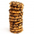 Cookies with nuts and chocolate glaze — Stock Photo #2281032