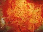 Mur rouge lumineux — Photo